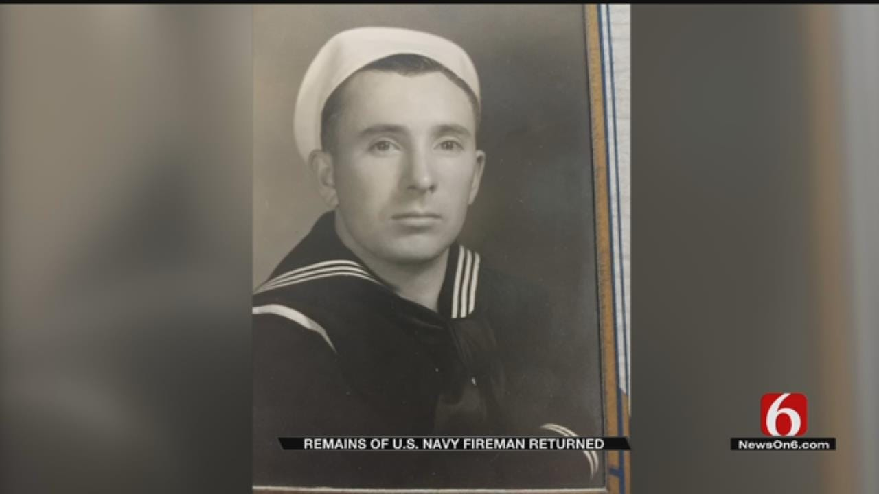 Remains Of Sailor Killed In Pearl Harbor Attack Arrive In Tulsa