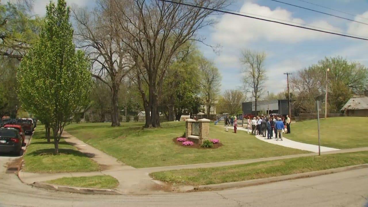 WEB EXTRA: Video From New Tulsa Park Dedication