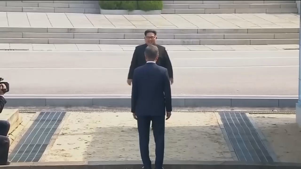 WEB EXTRA: Historic Summit Between North And South Korea