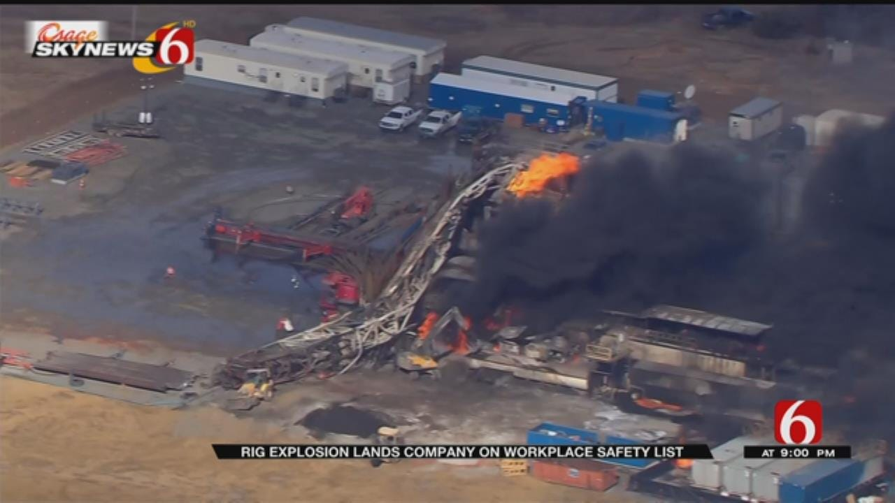 Drilling Company Makes 'Dirty Dozen' List After Rig Explosion, Worker Deaths