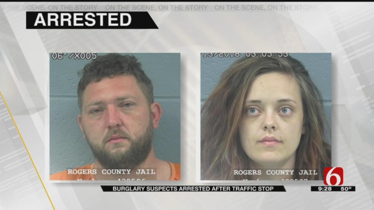 More Information On Burglary Suspects Arrested In Rogers County