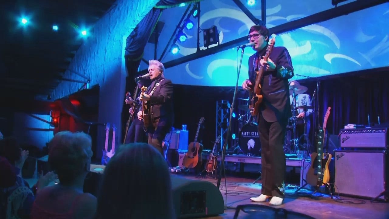 WEB EXTRA: Video From Marty Stuart Concert At Cain's