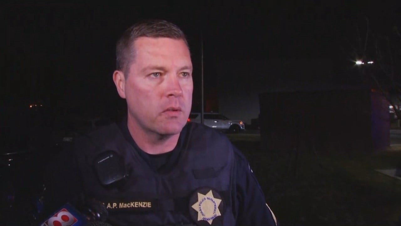 WEB EXTRA: Tulsa Police Sgt. Andrew MacKenzie Talks About Shooting