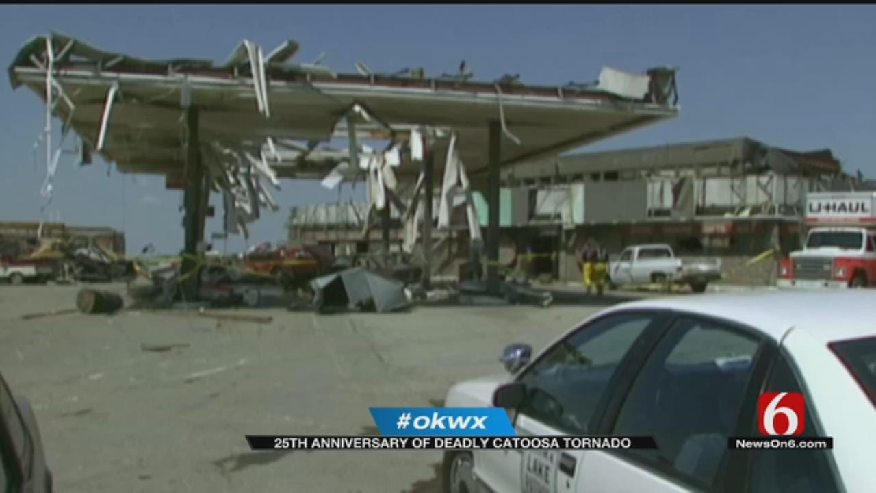 Woman Remembers Deadly Catoosa Tornado, 25 Years Later