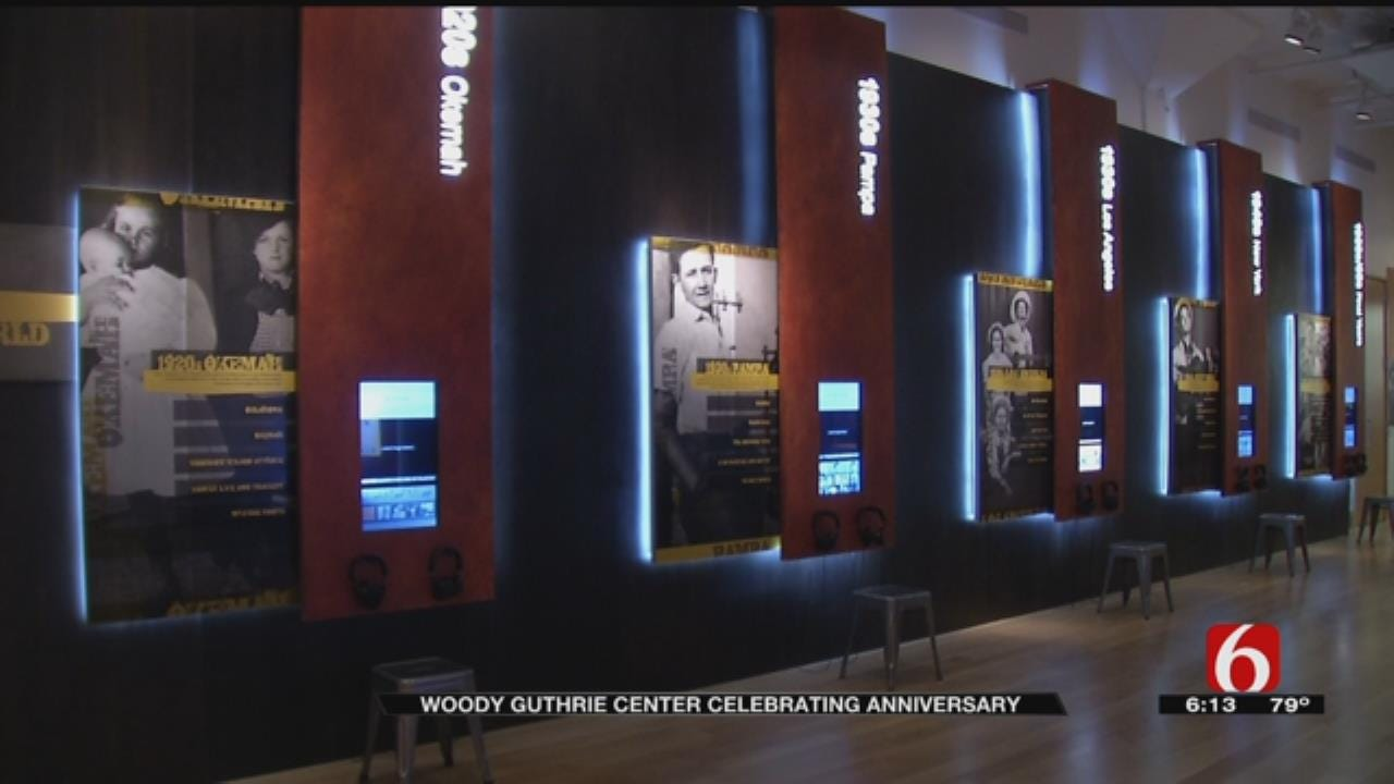 Woody Guthrie Center Celebrating 5th Anniversary