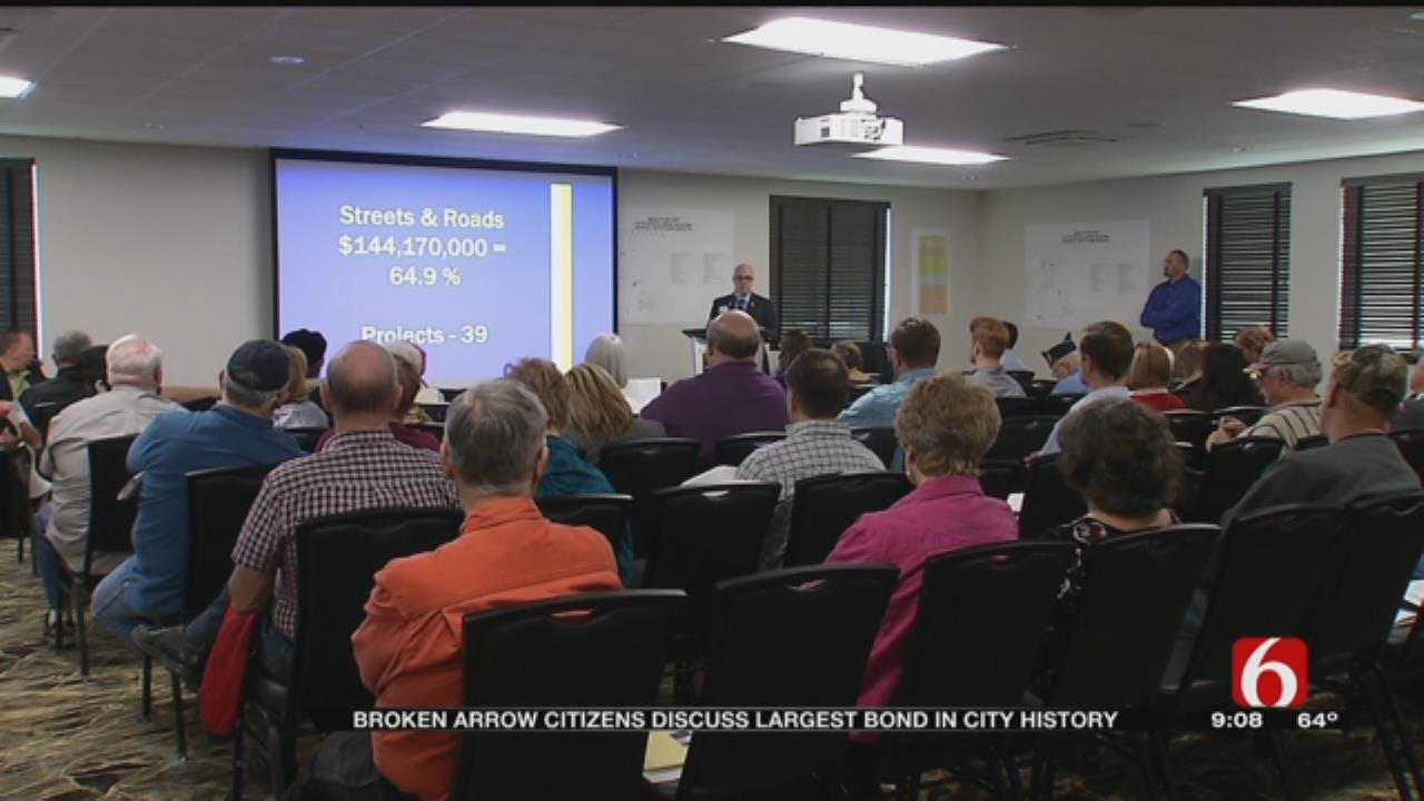 Broken Arrow Voters To Decide Uses Of City's Largest Ever Bond Package