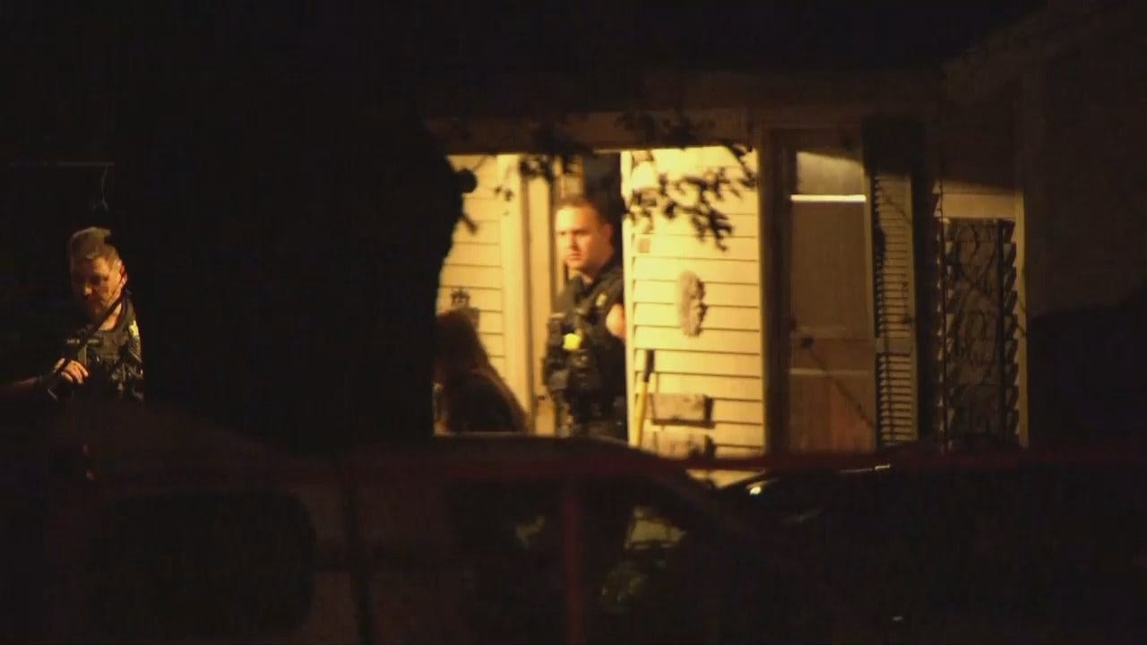 WEB EXTRA: Video From Scene Of Tulsa Stabbing