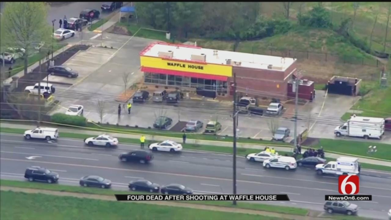 4 Dead, 4 Wounded In Shooting At A Tennessee Waffle House