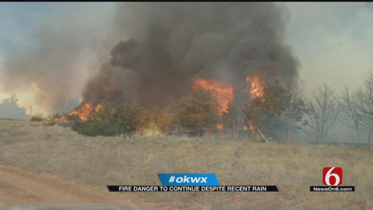 Burn Ban Continues Despite Heavy Rainfall