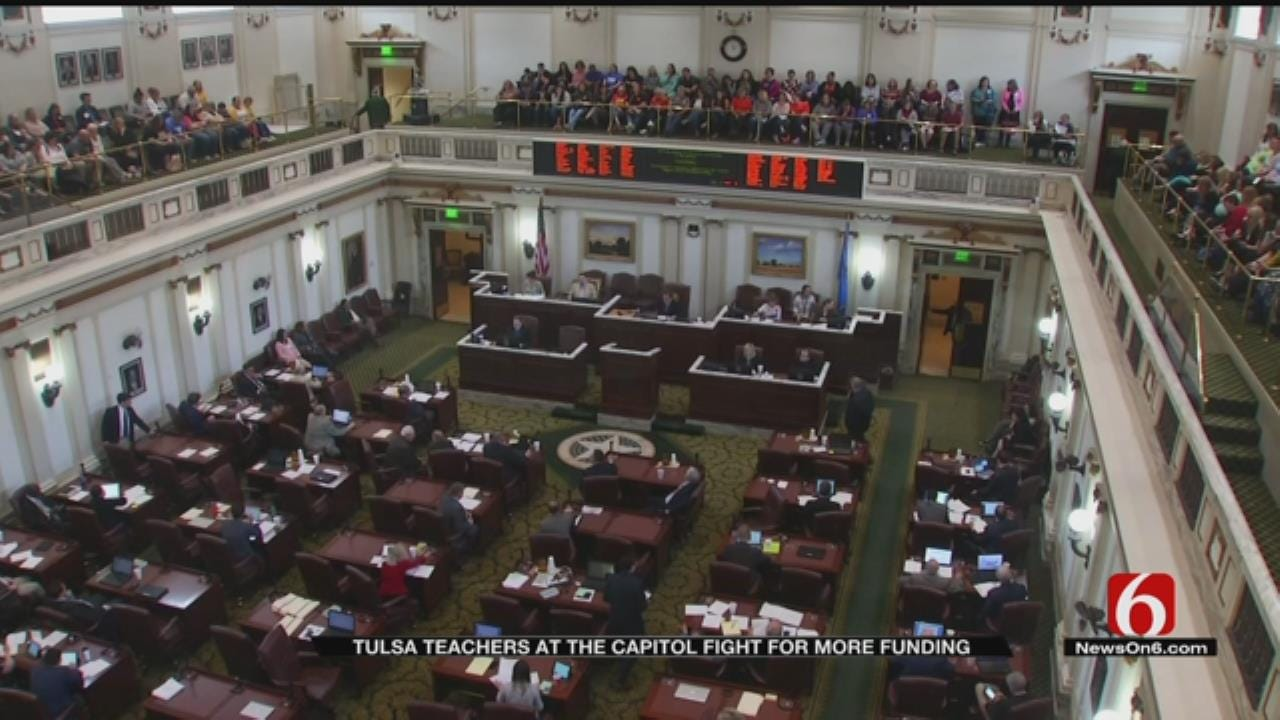 Classes Have Resumed, But Many Teachers, Supporters Still At Capitol
