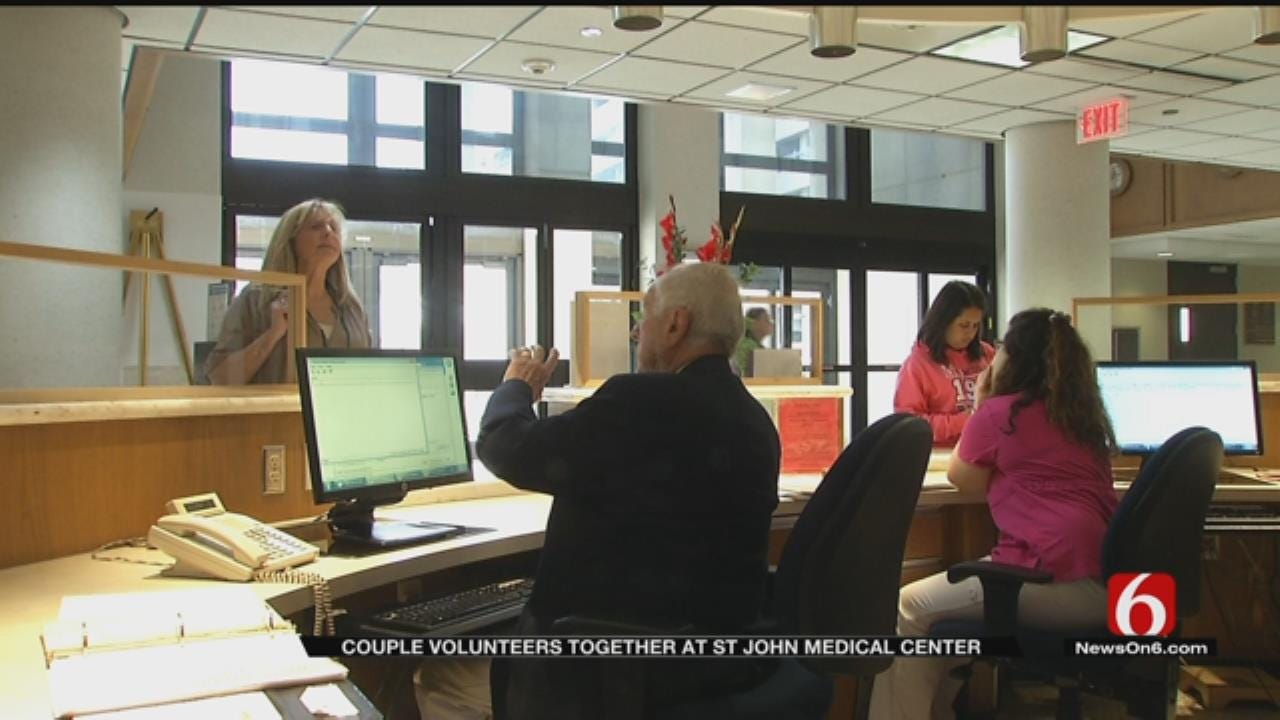 Volunteers Do Their Part To Help Tulsa Hospital Run Smoothly