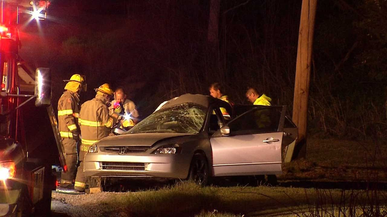 WEB EXTRA: Scenes From Fatal Coweta Wreck