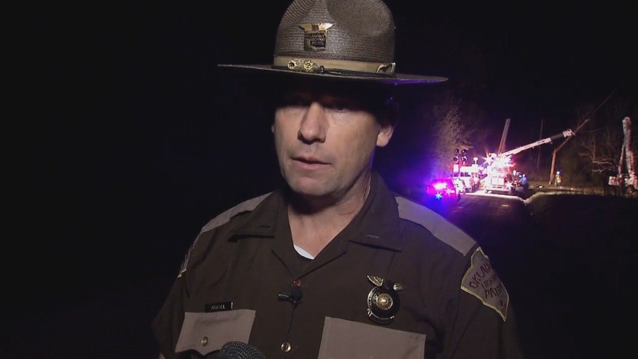 WEB EXTRA: OHP Trooper On Fatal Coweta Wreck