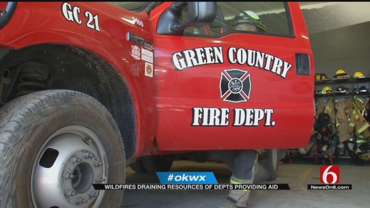 Volunteer Firefighters Back From Battling Wildfires, Already Busy At Home