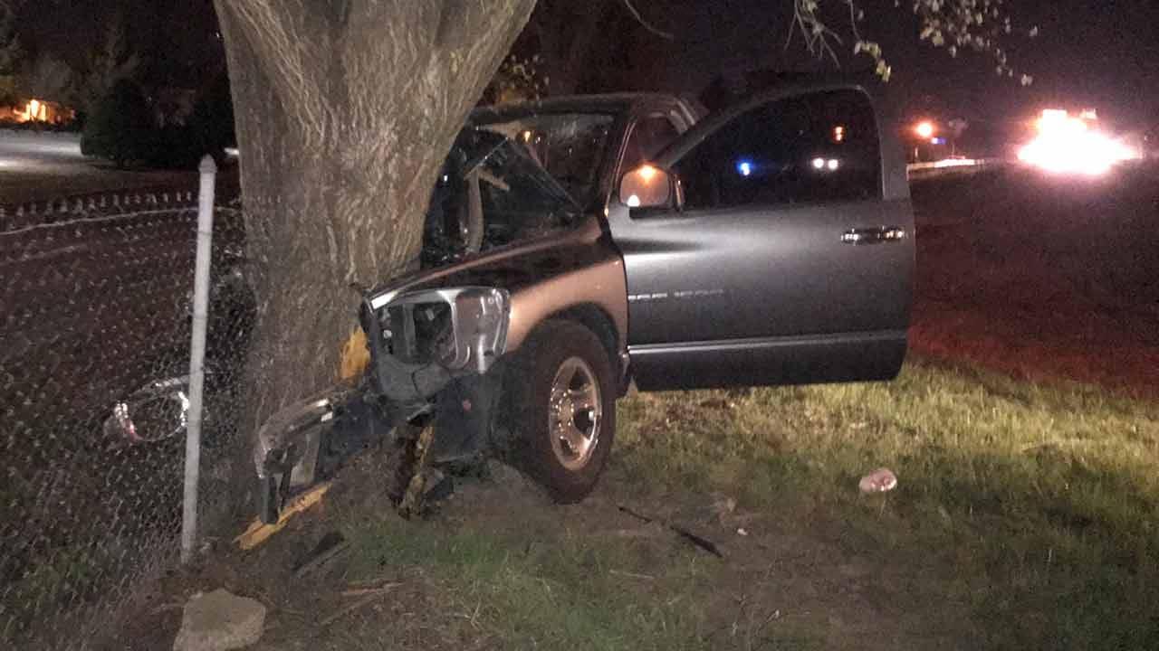 Dave Davis: Crash On BA Expressway Knocks Out Light Pole