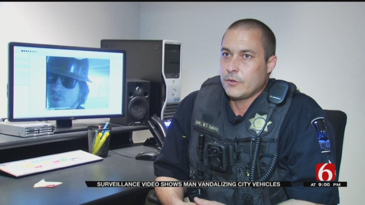 Vandalism Spree Caught On Camera, TPD Says