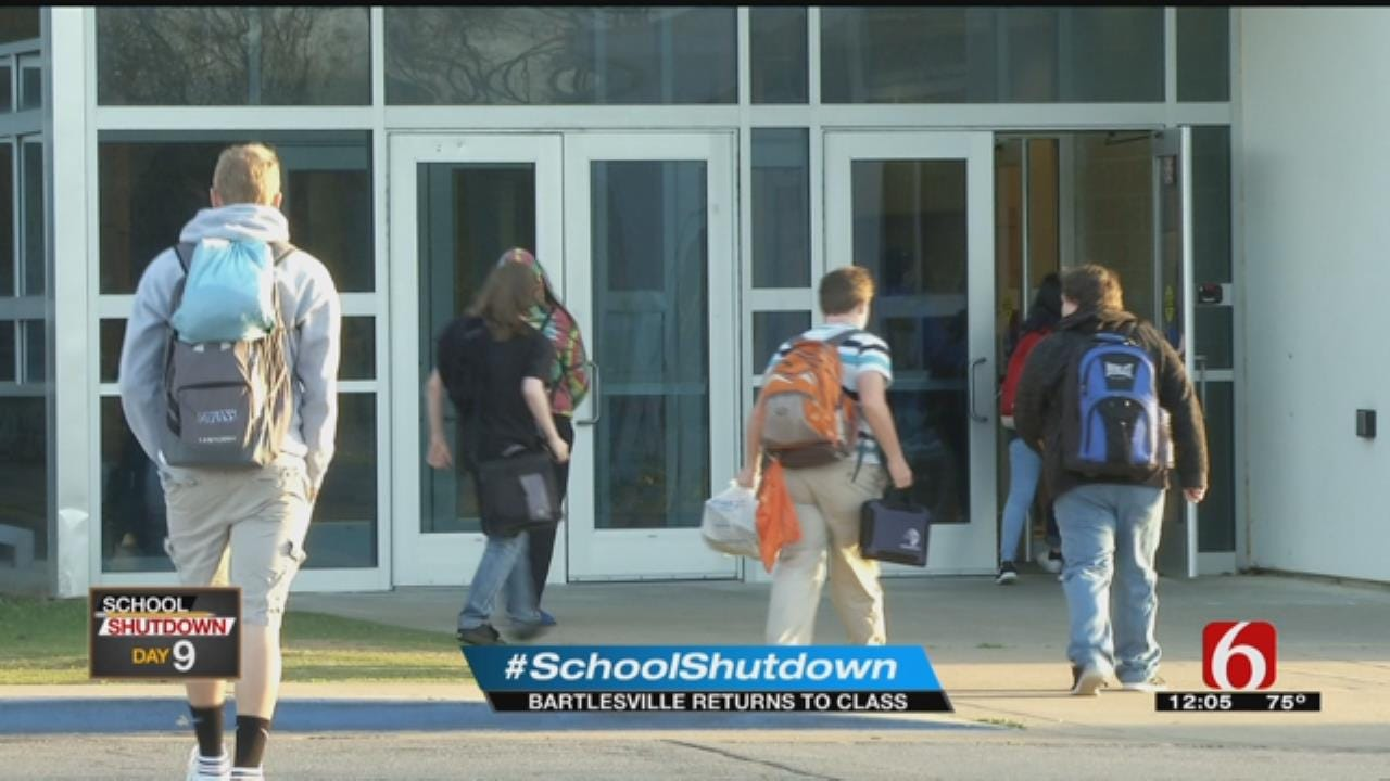 Bartlesville Students Heading Back To Class