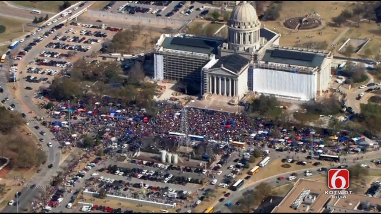 'Rally to End All Rallies' Underway At Oklahoma State Capitol