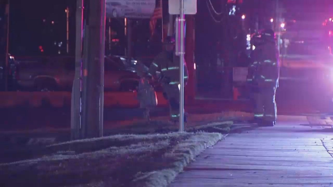 WEB EXTRA: Video From Scene Of Accident And Natural Gas Leak
