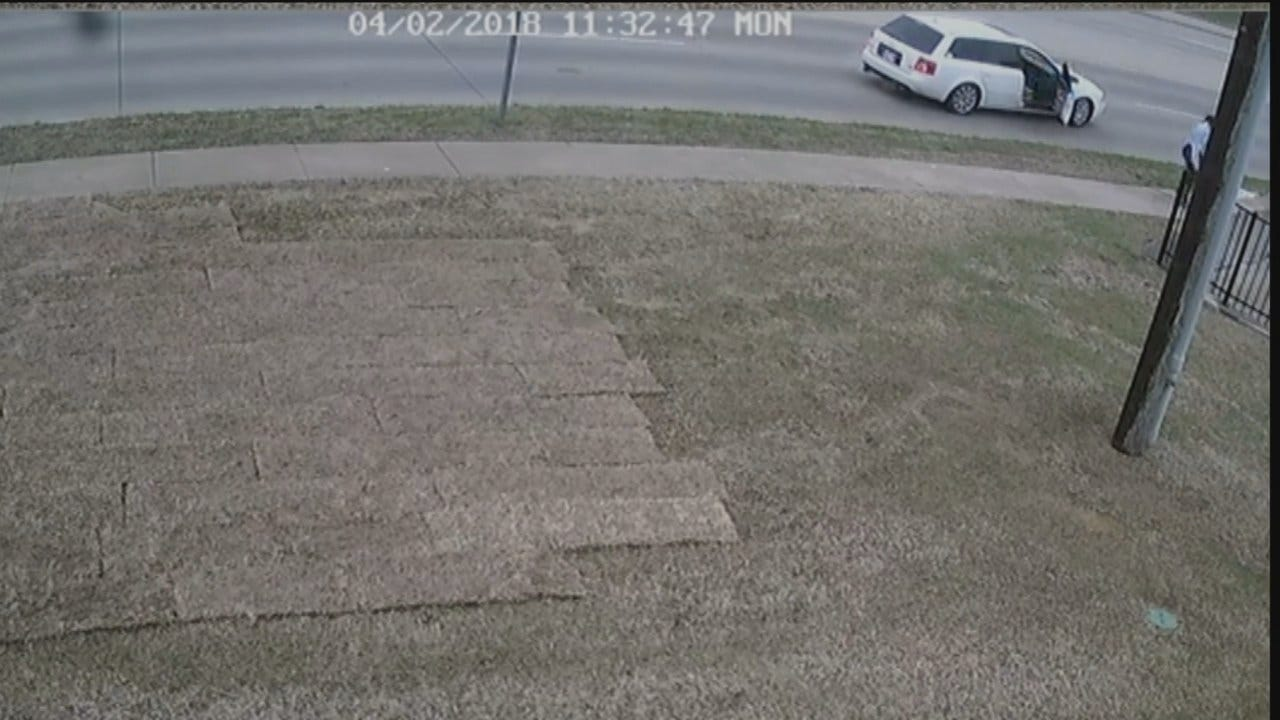 WEB EXTRA: Owasso Police Release Trash Container Theft Surveillance Video