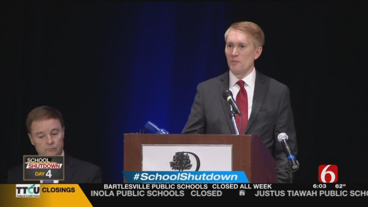 Senator Lankford Weighs In On Teacher Walkout