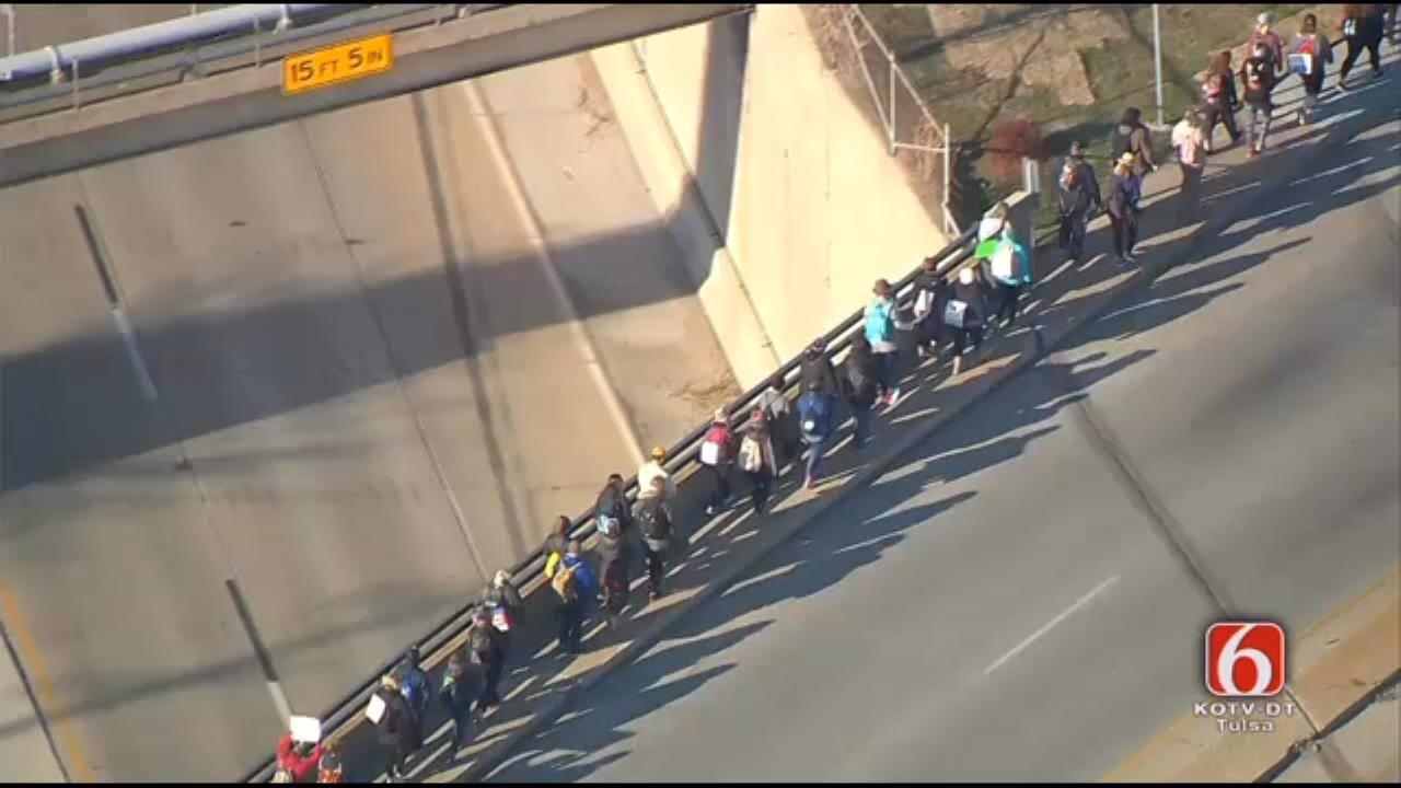 Tulsa-Area Teachers March For Education