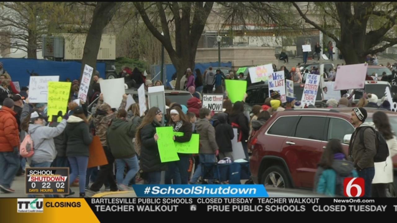 "Legislators ""Still Not Taking It Seriously,"" Say Tulsa Teachers"
