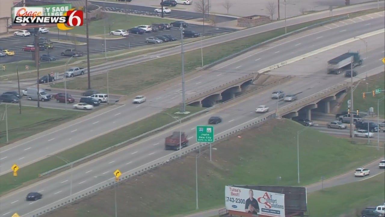 Osage SkyNews 6 HD Flies Over BA Expressway-Sheridan Interchange