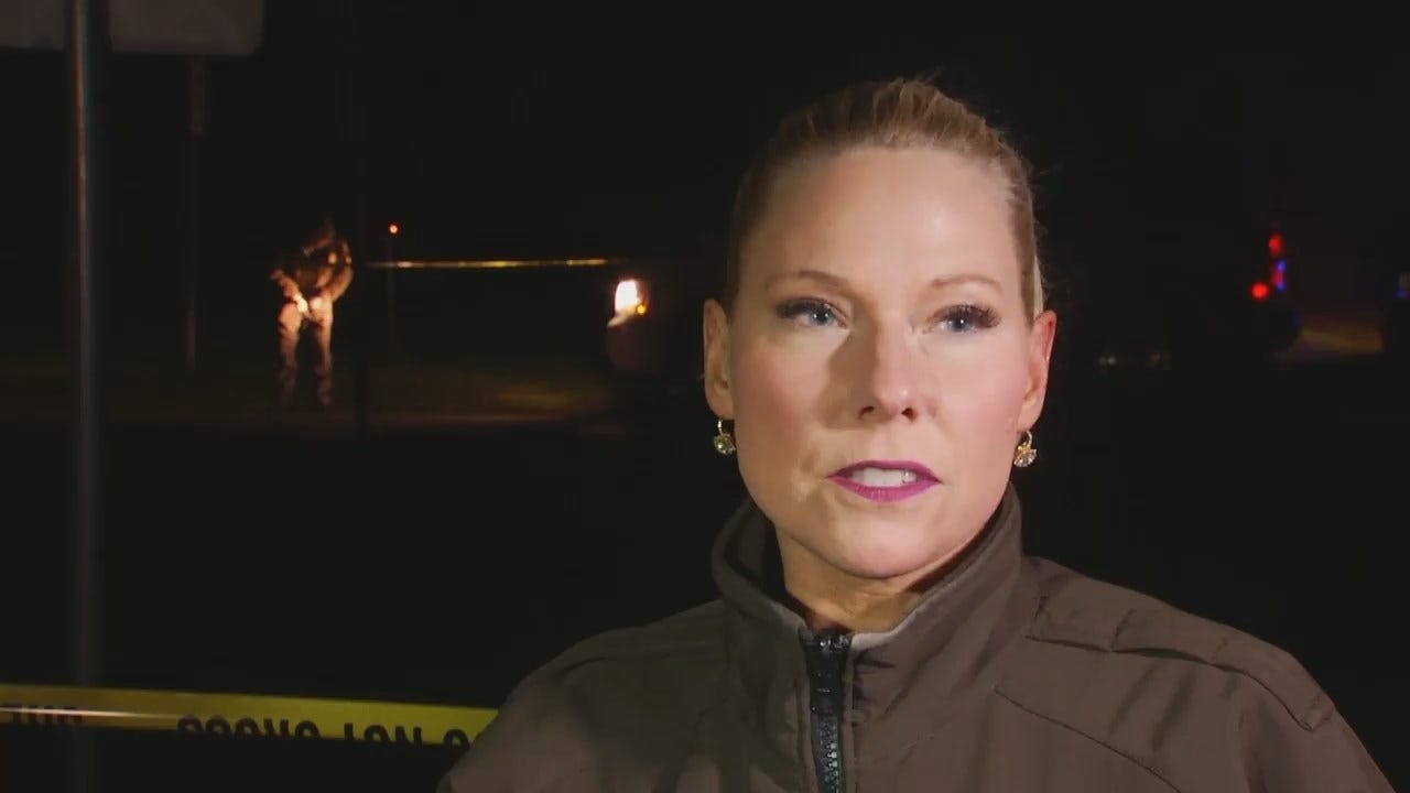 WEB EXTRA: Tulsa County Sheriff's Office Spokesperson Casey Roebuck Talks About Shooting