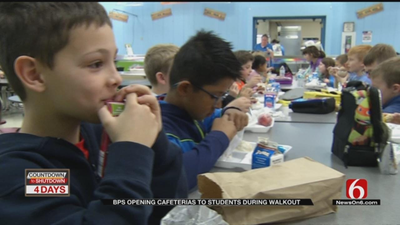 Bartlesville Schools To Provide Meals During Walkout