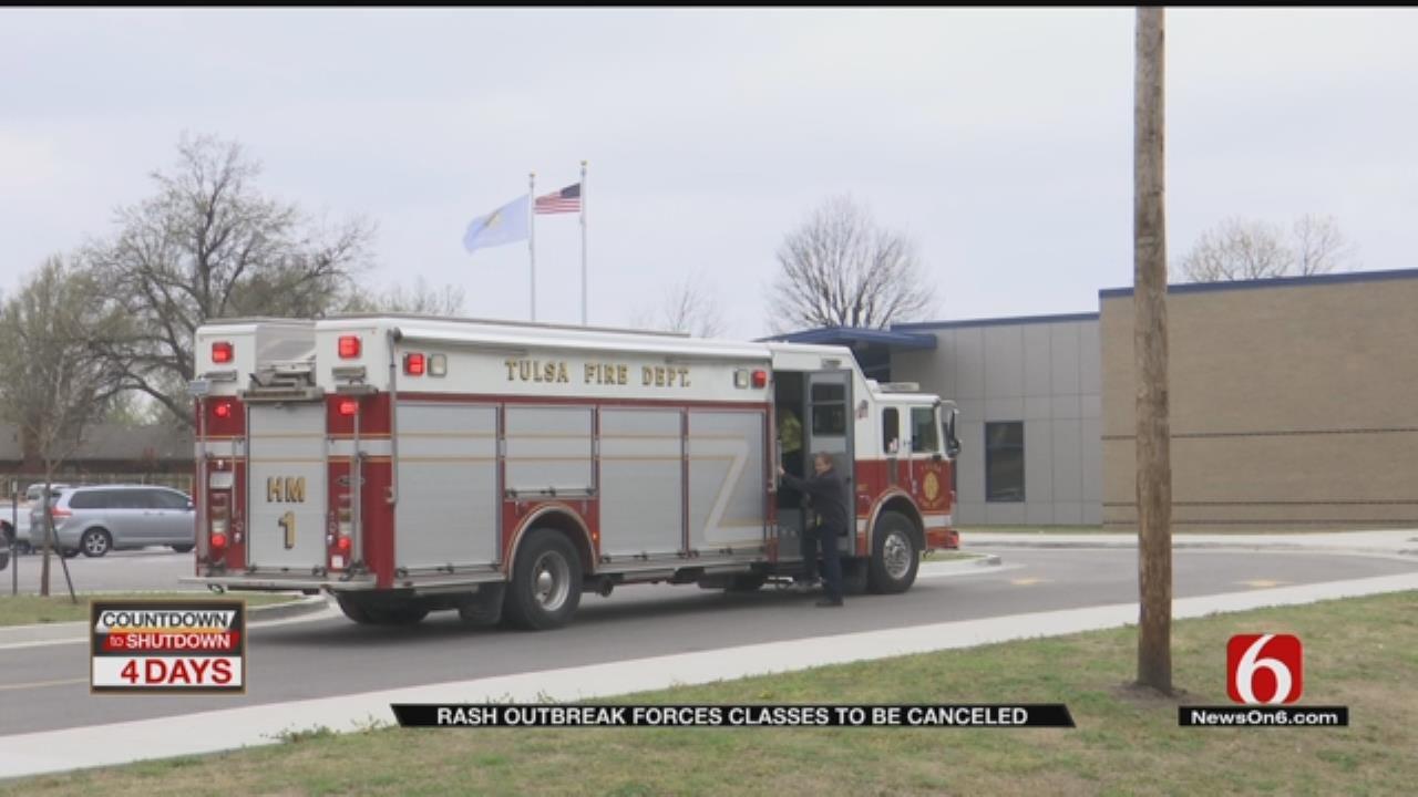 Rash Sends Tulsa Charter School Students To Hospital