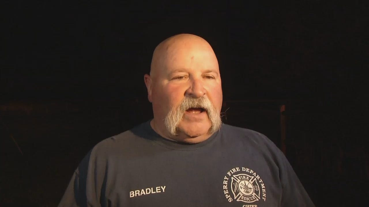 WEB EXTRA: Sperry Fire Chief Sam Bradley Talks About House Fire