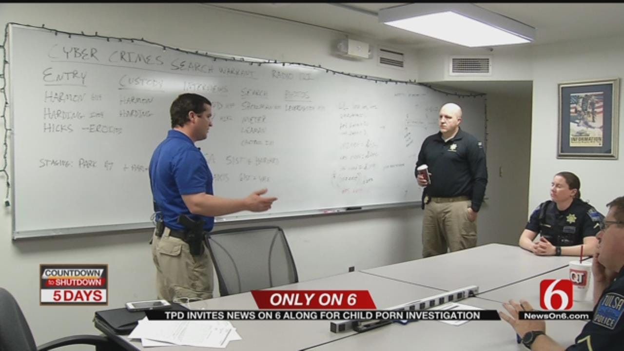 Tulsa Task Force Hunts Down Child Predators