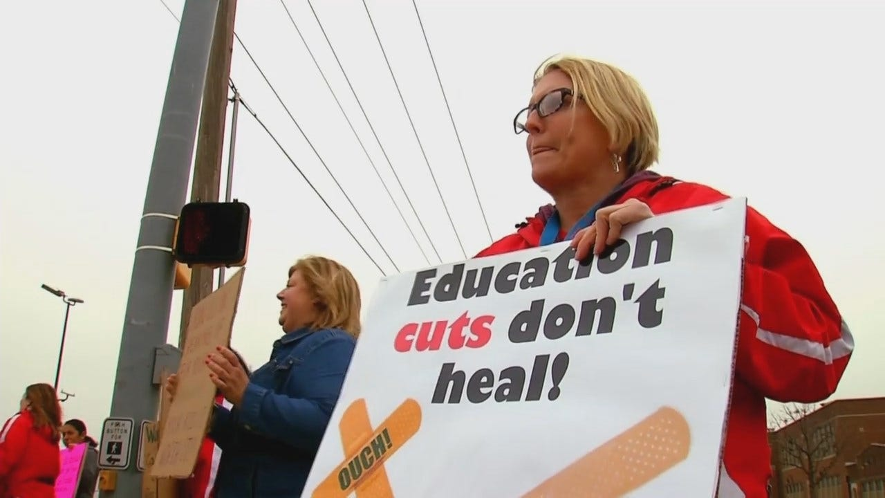 Oklahoma Teachers Lead The Charge For Change
