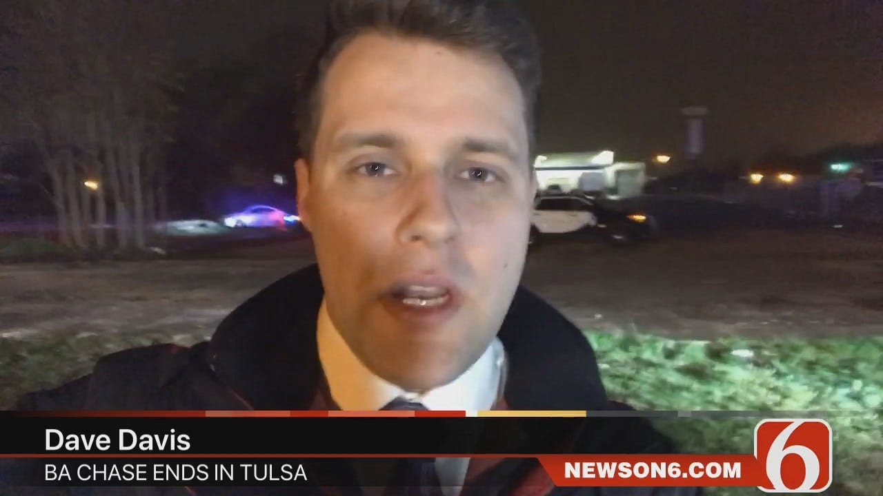 Dave Davis Reports On BA Police Chase Into Tulsa