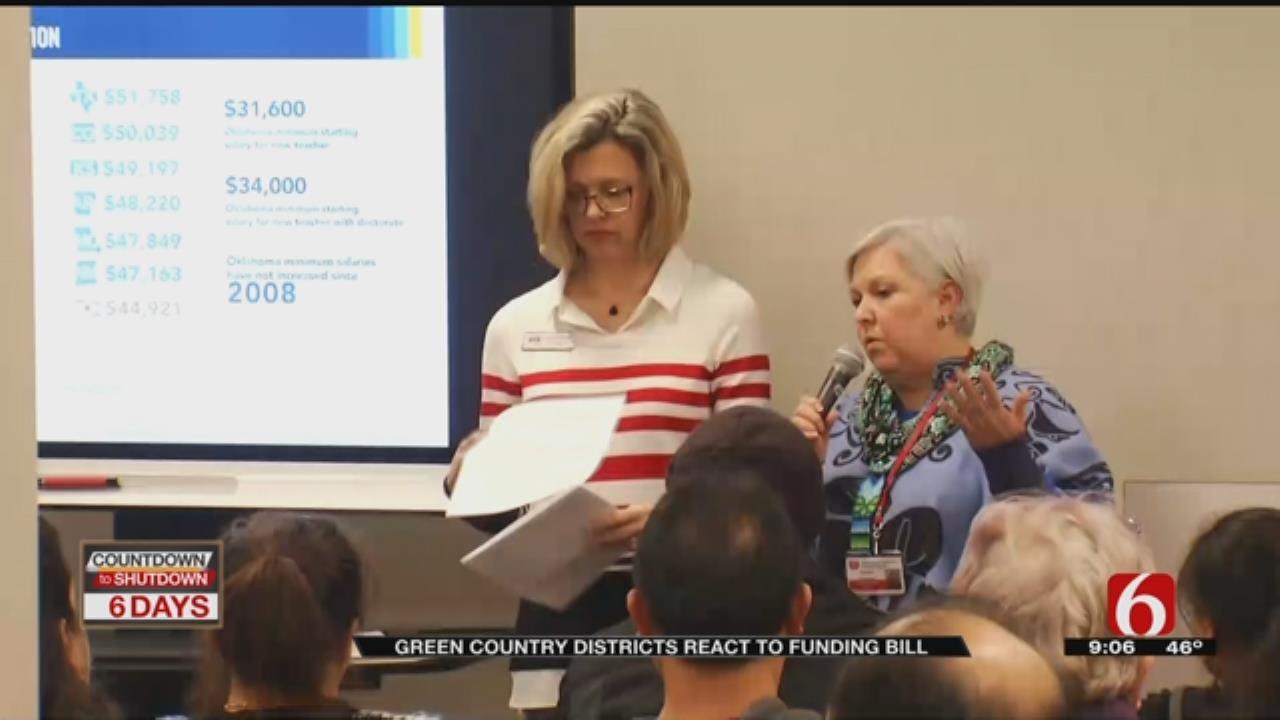 Teacher Reactions To House Tax Bill And Status Of Teacher Walkout
