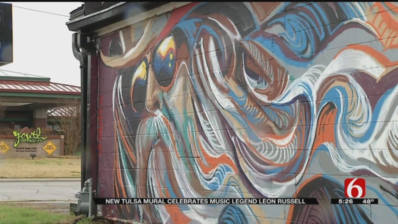 New Tributes To Leon Russell In Tulsa