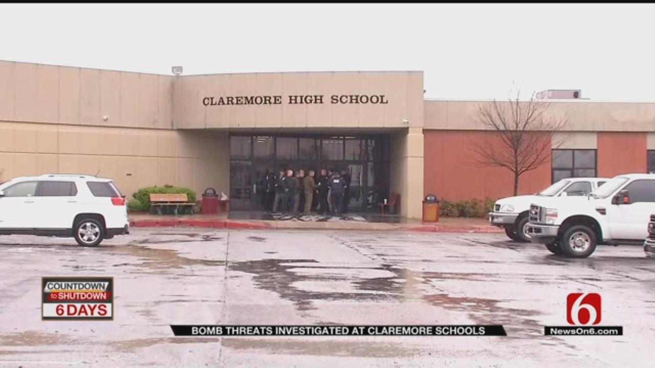 Bomb Threats Prompt Evacuations At Claremore Schools