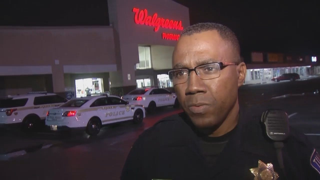 WEB EXTRA: Tulsa Police Sgt. Larry Williams Talks About Burglary