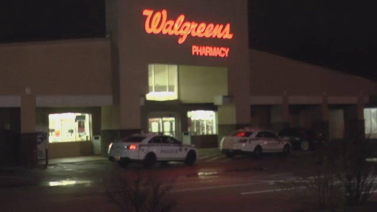 WEB EXTRA: Video From Scene Of Tulsa Walgreens Burglary