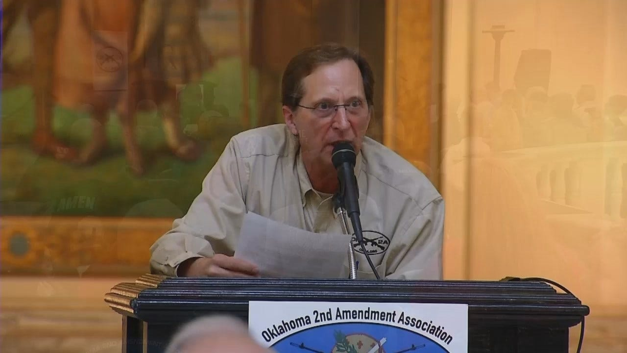 WEB EXTRA: Video From Pro Second Amendment Rally At State Capitol