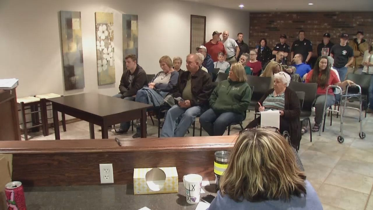 WEB EXTRA: Video From Public Meeting On Northwest Rogers County Fire Protection District Bond Issue