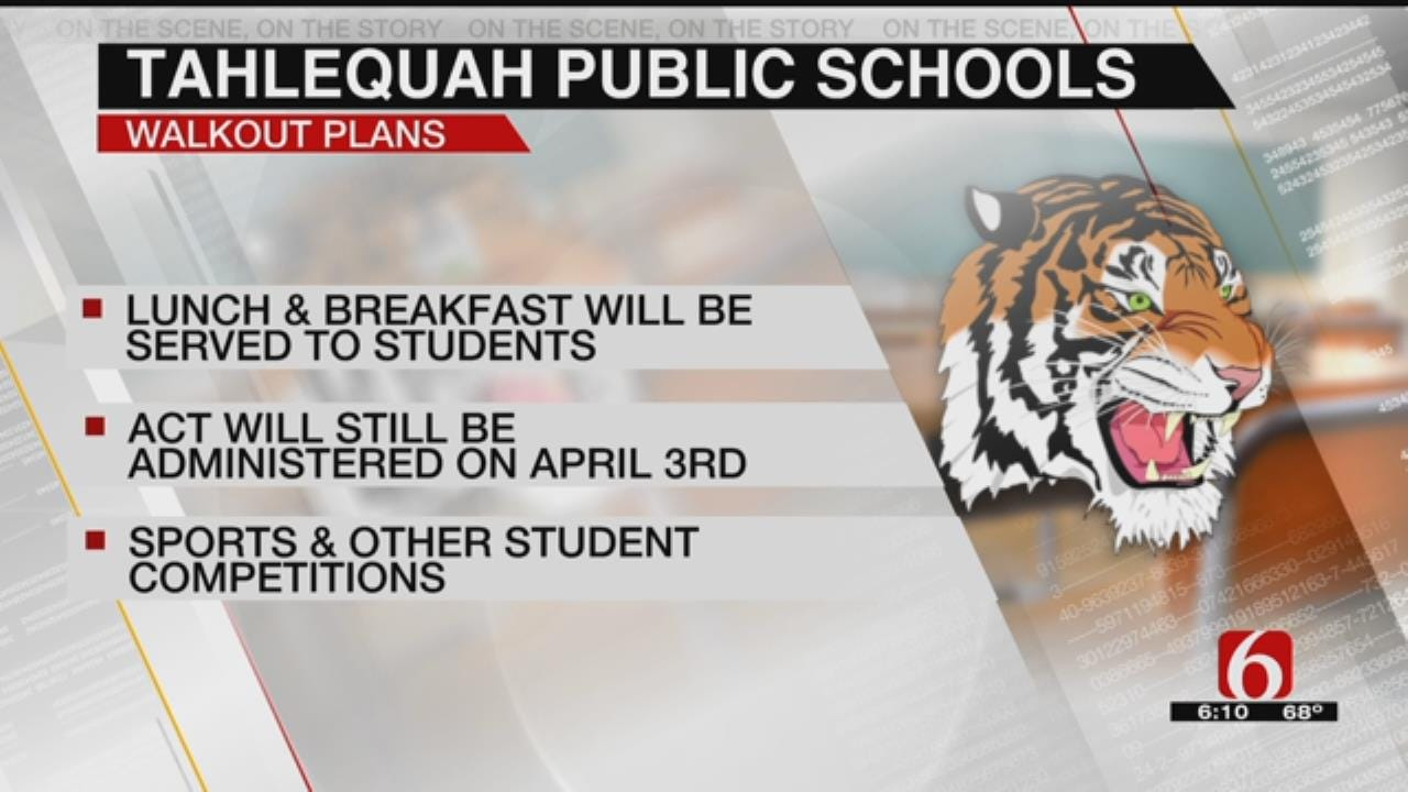 Tahlequah Schools Will Offer Breakfast & Lunch During Teacher Walkout