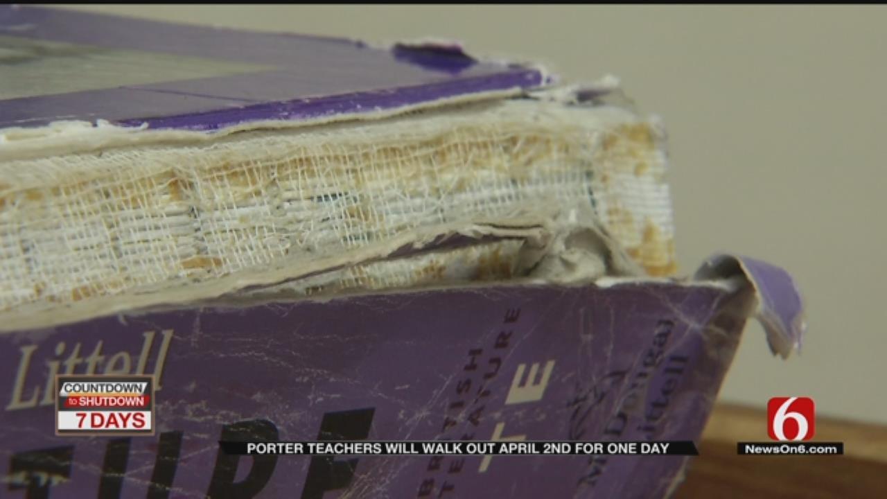 Teacher Walkout In Porter April 2nd, Back In Class Next Day