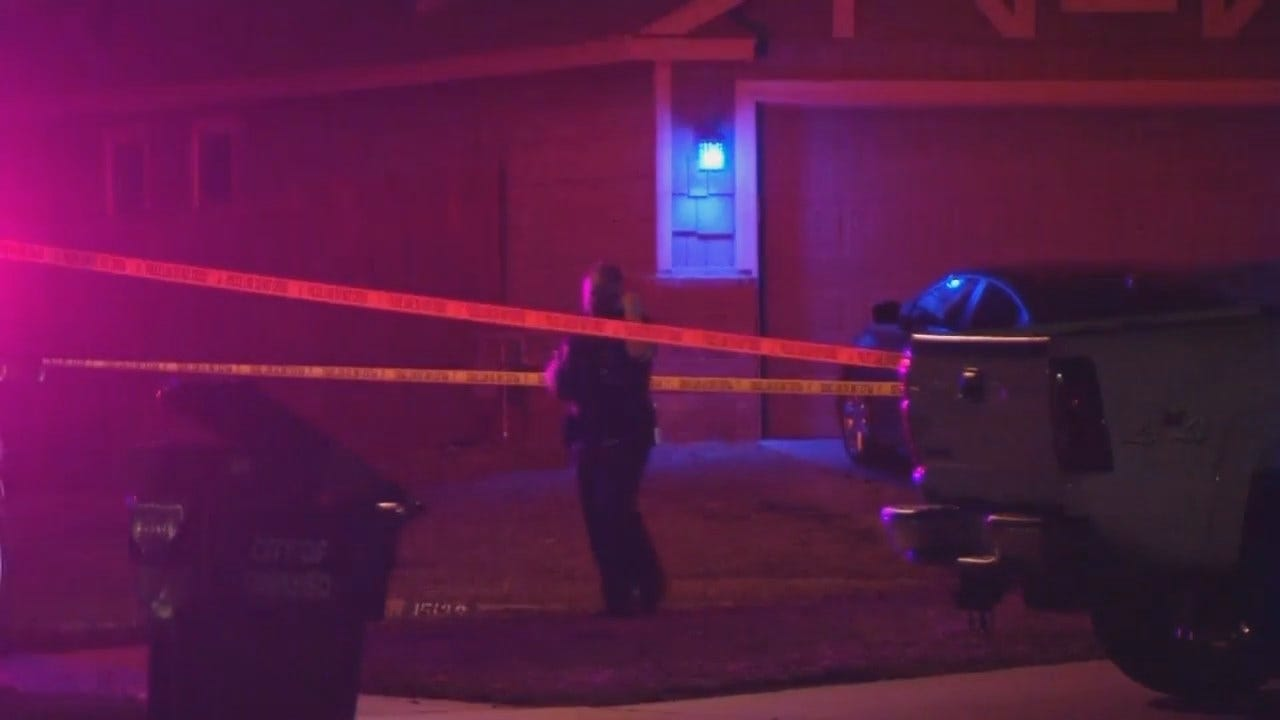WEB EXTRA: Video From Scene Of Owasso Police Shooting