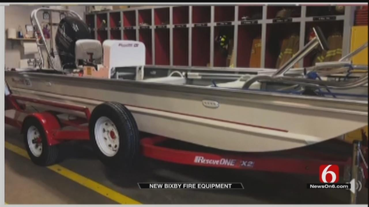 Bixby Fire Department Has New Equipment, Thanks To Voter-Approved Sales Tax