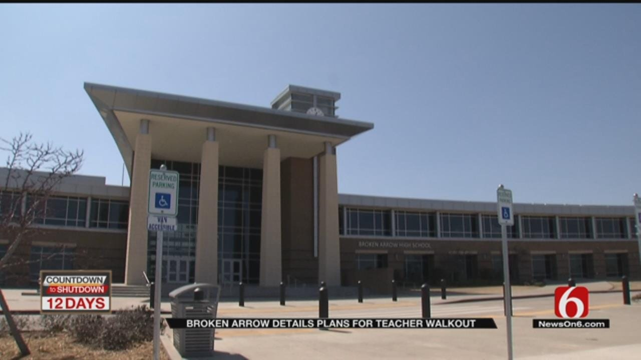 Broken Arrow Makes Plans For Teacher Walkout