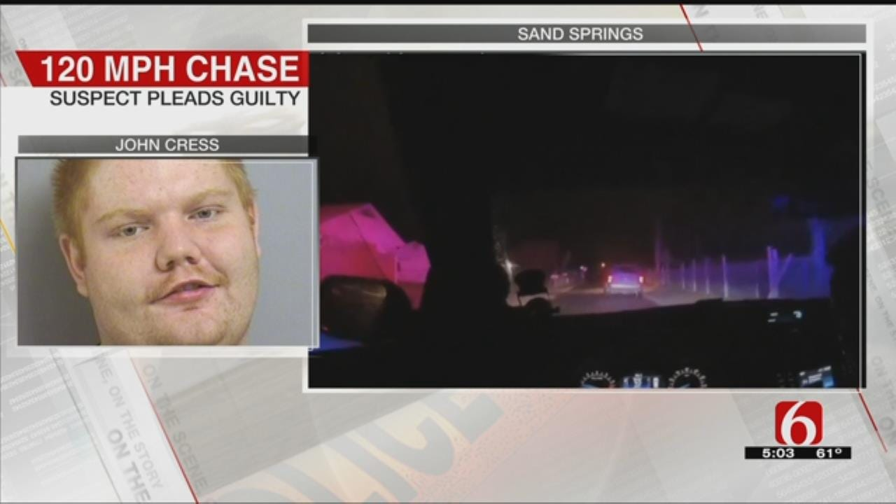 Sand Springs Chase Suspect Enters Guilty Plea