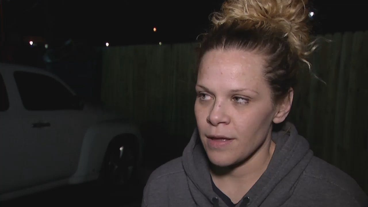 WEB EXTRA: Victim's Fiance, Shelly Boothe Talks About The Stabbing