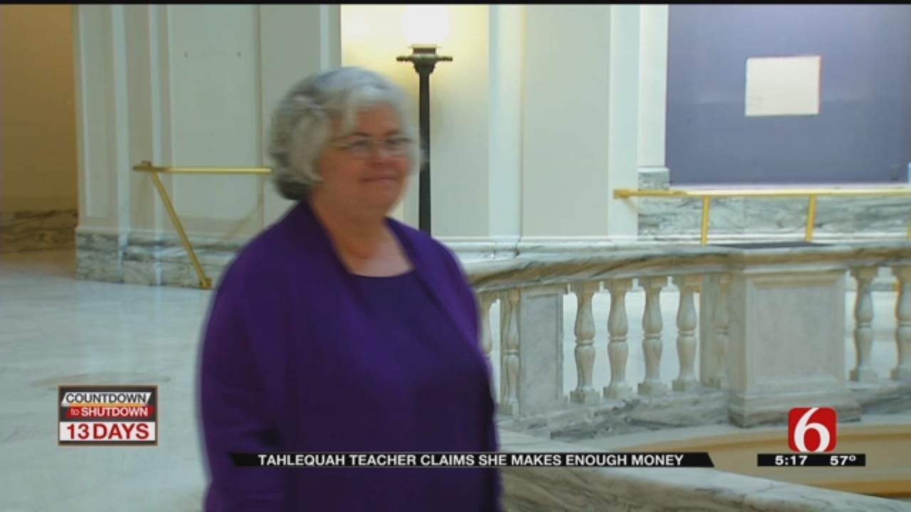 Teacher Says Pay Raises Not Necessary, Should Wait Until Economy Improves